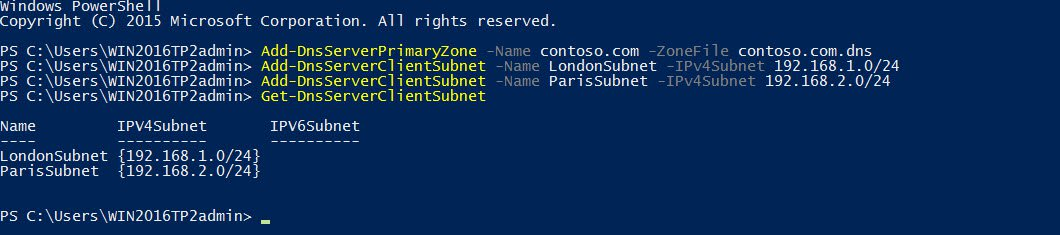 Adding DNS client subnets in Windows Server 2016 (Image Credit: Russell Smith)