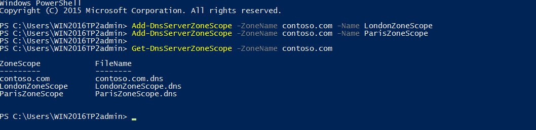 Adding DNS zone scopes in Windows Server 2016 (Image Credit: Russell Smith)