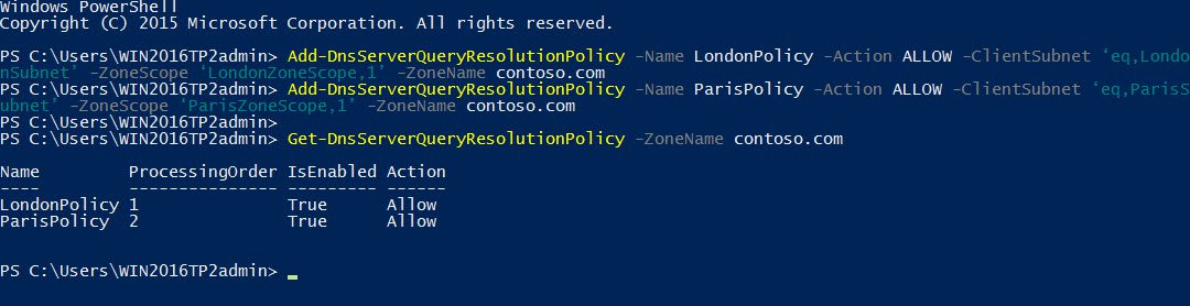 Creating DNS Policies in Windows Server 2016 (Image Credit: Russell Smith)