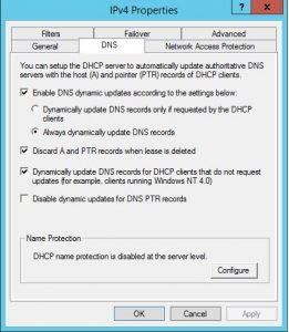 DHCP Server | Hottfixes
