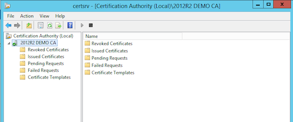 Certificate Authority Management Tool